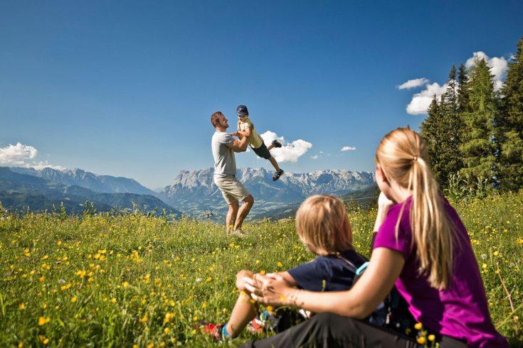 Wandern - Sommerurlaub in St. Johann-Alpendorf, Salzburg